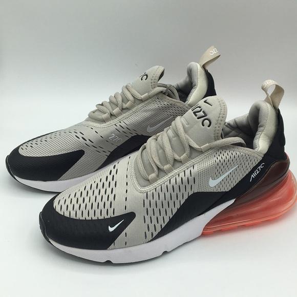 Men Nike Air Max 27 Light Bone